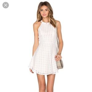 NWT Lovers + Friends Revolve Gingham Dress